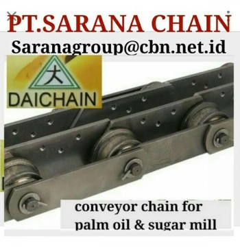 Jual DAICHAIN CONVEYOR CHAIN PT SARANA CHAIN DAICHAIN FOR PALM OIL & SUGARMILL