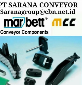 Jual MARBETT MCC CONVEYOR COMPONENT PART PT SARANA BELT