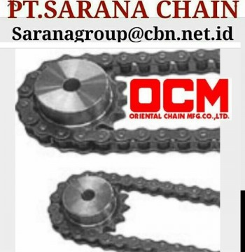 Jual OCM ROLLER CHAIN PT SARANA CHAIN STANDARD ANSI CHAIN RS 40 RS 60