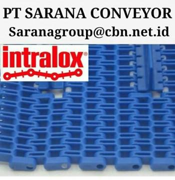 Jual INTRALOX MAPTOP BELT PT SARANA CONVEYOR PLASTICS