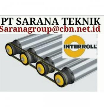 Jual INTERROL MOTORIZED ROLLER PT SARANA TEKNIK jakarta INTERROLL ROLLER