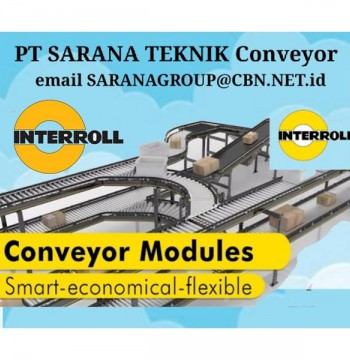 Jual Roller Conveyor MOTORIZED INTERROLL PT SARANA TEKNIK CONVEYOR