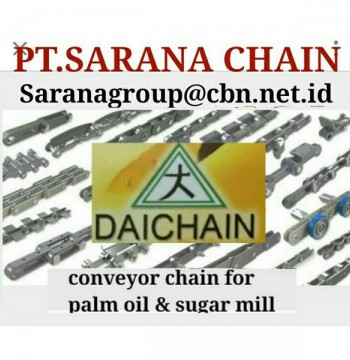 Jual PT SARANA CHAIN STOCK DAICHAIN CONVEYOR CHAIN DAICHAIN FOR PALM OIL