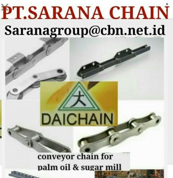 Jual PT SARANA CHAIN SELL DAICHAIN CONVEYOR CHAIN DAICHAIN FOR PALM OIL