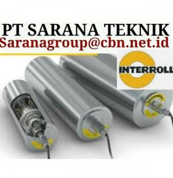 Jual INTERROLL ROLLER CONVEYOR PT SARANA TEKNIK INTERROLL ROLLER motorized