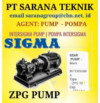 Jual INTERSIGMA PUMP POMPA INTERSIGMA SIGMA