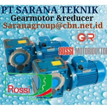 Jual ROSSI GEARBOX PT SARANA TEKNIK ROSSI GEARMOTOR & REDUCER