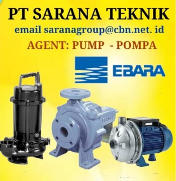 Jual EBARA Gear Pump CENTRIFUGAL SUBMERSIBLE PT SARANA TEKNIK PUMP