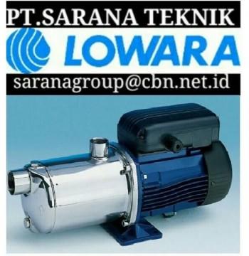 Jual LOWARA PUMP - PT SARANA TEKNIK CENTRIFUGAL LOWARA PUMP submersible lowara pump