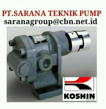Jual KOSHIN GEAR PUMP SERIES GB GL GC PT SARANA PUMP KOSHIN GEAR PUMP FOR OIL gear pump koshin
