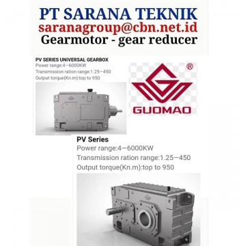 Jual Gearbox Motor CYCLO GEAR REDUCER PT SARANA TEKNIK