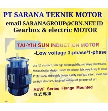 Jual TAI YIH SUN PT SARANA TEKNIK HELICAL Gearbox Motor