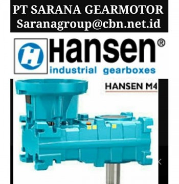 Jual BROOK HANSEN GEARBOX PT SARANA GEAR MOTOR BROOK INDUSTRIAL GEARBOXES