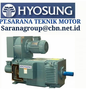 Jual DC HYOSUNG ELECTRIC MOTOR MADE IN KOREA PT SARANA TEKNIK
