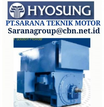 Jual HYOSUNG ELECTRIC IEC MOTOR MEDIUM VOLTAGE MADE IN KOREA PT SARANA TEKNIK