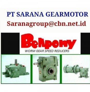 Jual SINGLE SPEED BELLPONY SPEED REDUCER TYPE PA PT SARANA GEAR MOTOR