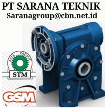 Jual PLANETARY GEARBOX STM WORM GEAR DRIVE PT SARANA GEAR MOTOR