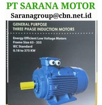 Jual PT SARANA TITAN ELECTRIC AC MOTOR TITAN FOOT MOUNTED