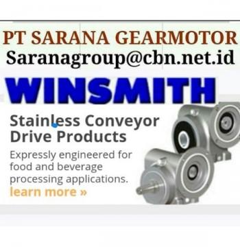 Jual PT SARANA WINSMITH GEAR REDUCER GEARBOX gear motor