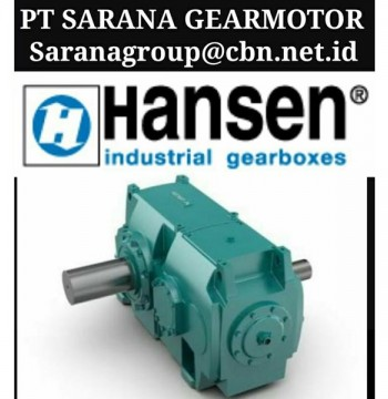 Jual BROOK HANSEN TRANSMISSION GEARBOX PT SARANA GEAR MOTOR BROOK INDUSTRIAL