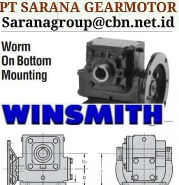 Jual PT SARANA WINSMITH GEAR REDUCER GEARBOX PT SARANA GEAR MOTOR