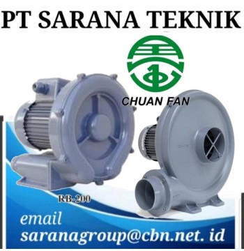 Jual PT SARANA TEKNIK RING BLOWER CHUAN FAN & TURBO BLOWER CHUAN FAN
