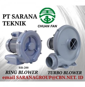 Jual CHUAN FAN RING BLOWER TURBO PT SARANA TEKNIK BLOWER TYPE RB