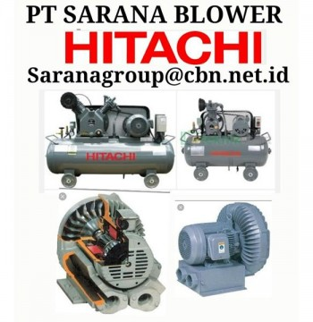 Jual AIR COMPRESSOR HITACHI BLOWER VORTEX RB PT SARANA TEKNIK BEBICON
