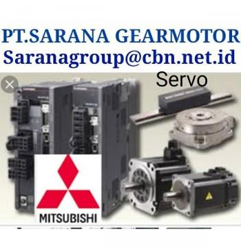 Jual MITSUBISHI SERVO AC MOTOR PT SARANA GEAR AC MOTOR PLC INVERTER