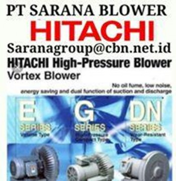 Jual HITACHI BLOWER VORTEX RB PT SARANA TEKNIK AIR COMPRESSOR BEBICON