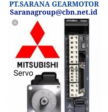 Jual MITSUBISHI SERVO AC MOTOR PT SARANA GEAR MOTOR & PLC INVERTER