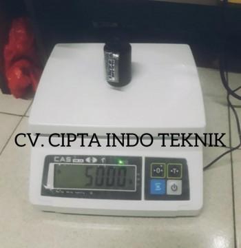 TIMBANGAN MEJA  Type SW 1 MERK CAS  - CIPTA INDO TEKNIK 081252277588