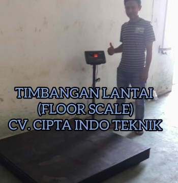 JUAL FLOOR SCALE / TIMBANGAN LANTAI SURABAYA