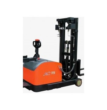 Stacker E reach 1,5 ton | Jual | Rental | Service | Forklift | Scissor Lift | Wheel Loader | Man Lif