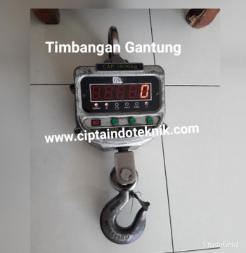 TIMBANGAN GANTUNG - CRANE  SCALE