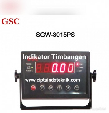 JUAL INDIKATOR  SGW 3015 PS MERK GSC  MADE IN TAIWAN
