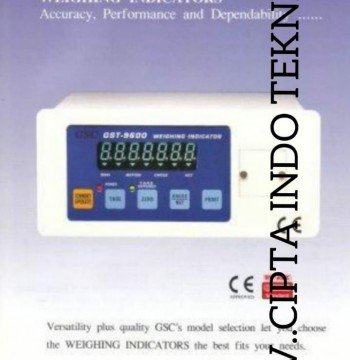 GSC - INDIKATOR  GST 9600  CV. CIPTA INDO TEKNIK