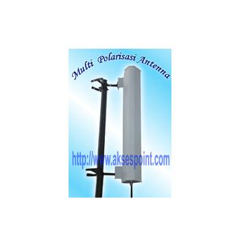 Multi Polarisasi 17 dBi Antena Wifi 2,4 GHz