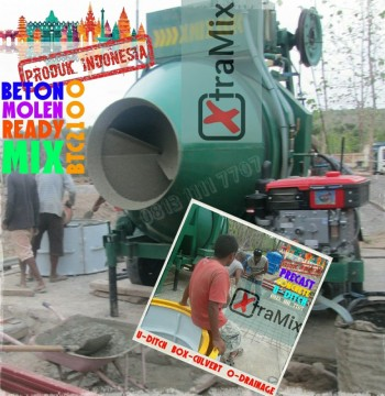 Harga Mesin Beton Molen merk XtramiX untuk Uditch Precast Box Culvert dll