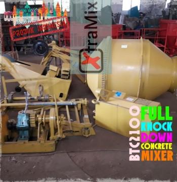 Jual Diesel Concrete Mixer merk XtramiX KnocK Down System