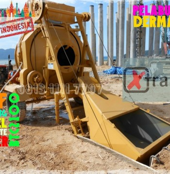 Jual Diesel Self Loading Concrete Mixer untuk Cor Beton merk XtramiX model Winget