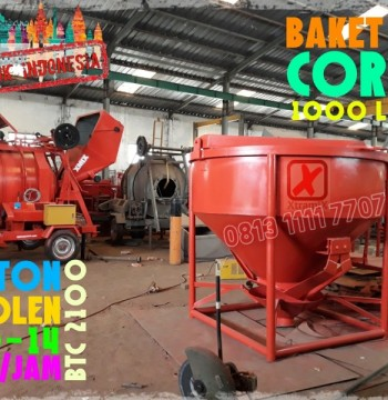 Jual Bucket Cor Concrete Bucket 1.5 m3