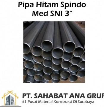 """Pipa Hitam Spindo Med SNI 3"""""""