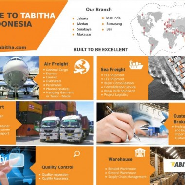 Jasa Forwarder Import China Indonesia & Review Tabitha Indonesia