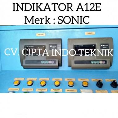 INDIKATOR  A12E  MERK SONIC  - CV. CIPTA INDO TEKNIK  CIPTA INDO TEKNIK