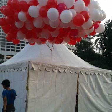 Balon Gas Balon Pelepasan Kreasi Balon