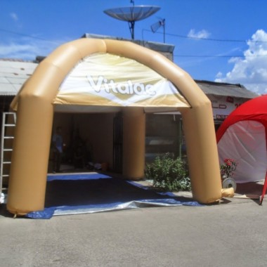 Balon Tenda Air dome Kreasi Balon