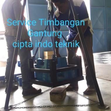 SERVICE  TIMBANGAN  GANTUNG  - CRANE  SCALE  DIGITAL  SURABAYA  CIPTA INDO TEKNIK