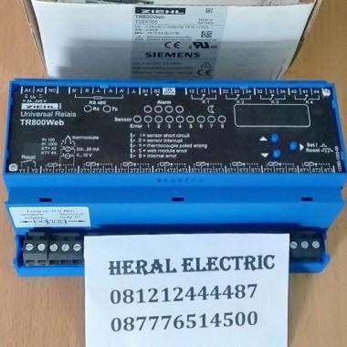 jual ZIEHL TR800WEB Web-IO Universal-Relay, 8 Sensors/Inputs HERAL ELECTRIC