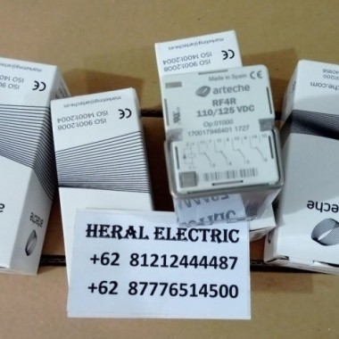 Jual Relay ARTECHE RF4R 110/125VDC Tripping Relay HERAL ELECTRIC